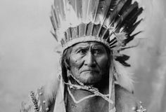 Geronimo: Geronimo (1829-1909), Apache chief who led opposition to the U.S. policy to consolidate his people on reservation. (Photo Credit: © CORBIS)