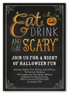 halloween party wording samples invitation Adult