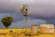 Landscape Photos, Landscape Photography, Old Windmills, Farm Pictures, South African Art, Wind Of Change, Yellow Art, Country Life, New Art