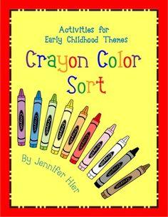 crayon color sort