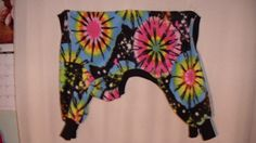 xlarge firecracker tie dye ski jammies for xlarge pets by FlyingPigsInc on Etsy
