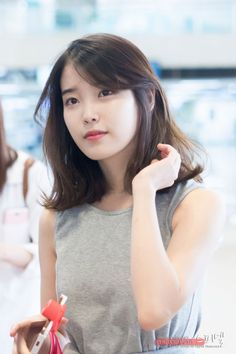 iu singer short hair - Google Search Elena