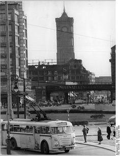 O-Bus Alexanderplatz 1959