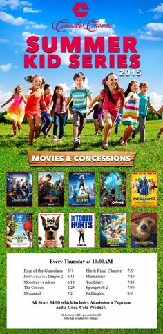 Summer Kid Movie Programs   Knoxville Moms Blog