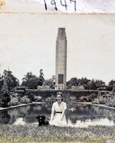 El Obelisco 1947,Ciudad de Guatemala.