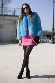 Elena Perminova, Pink Hat | Street Fashion | Street Peeper | Global Street Fashion and Street Style