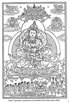 tibetan mandala designs | Tibetan Designs Fine Art Coloring Book
