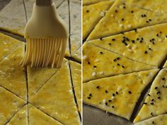 preparare biscuiti cu bere si cascaval 4 New Recipes, Recipies, Cooking Recipes, Healthy Recipes, Healthy Food, French Bakery, Cook At Home, Dessert Recipes, Desserts