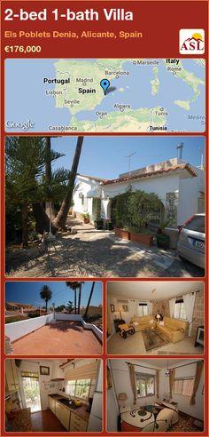 2-bed 1-bath Villa in Els Poblets Denia, Alicante, Spain ►€176,000 #PropertyForSaleInSpain