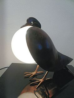 Table lamp by Claude & Francois-Xavier Lalanne