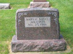 NAGEL, MARY C. - Allamakee County, Iowa | MARY C. NAGEL