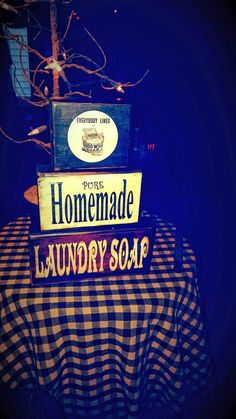 PrimiTive PuRe HomeMade LaunDry SoAp BlocKs:) by Harvestmoonjars on Etsy