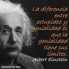 genialidad, estupidez y Einstein