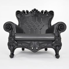 "Queen Of Love Chic Black now featured on Fab.Com ""Design of Love  Plastic Louis XV-Style Furniture"""