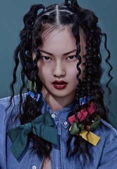 vuittonable: cong he for grazia china april 2015 Style lovers in 2020 Hair Reference, Photo Reference, Hair Art, My Hair, Pelo Editorial, Peinado Updo, Grunge Hair, Dream Hair, Pretty People