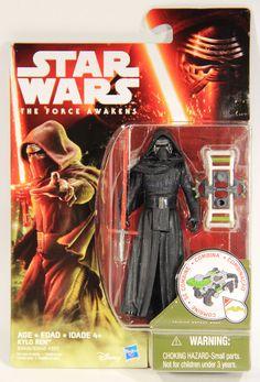 UK Star Wars Force Awakens Figure Toy Kylo Ren 10cm PVC Toys Figures BB8