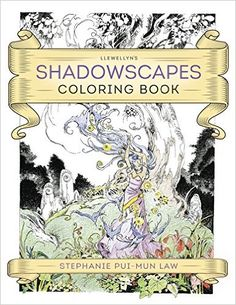Amazon.co.jp: Llewellyn's Shadowscapes Coloring Book: Stephanie Pui-mun Law: 洋書