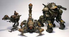 Hiroshi Yokoyama design Zoids