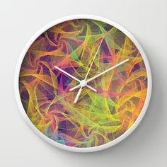 Blend Everywhere Wall Clock by Danny Ivan - $30.00