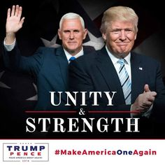 pence trump unity and strength