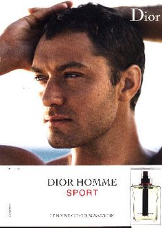 Dior Homme Sport by Christian Dior with Jude Law (2008).