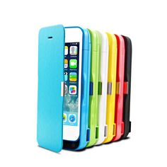 New Coming 4200mAh portable external charger case for iPhone 5 5s 5c ,different colors