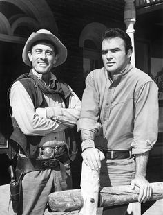 Ken Curtis, Burt Reynolds - Gunsmoke