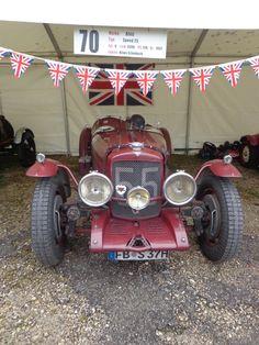 Ein Alvis Speed 25 von 1937