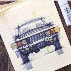 """Mi piace"": 431, commenti: 3 - Скетчинг Рисование Дизайн (@sketchzone) su Instagram: ""Работа от @livedrawdie #sketch #sketching #art #autodesign #machine #auto #car #cardesign #скетч…"""