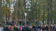 Onthulling van het beeld bij het nieuwe park vijver Voerendaal 2015