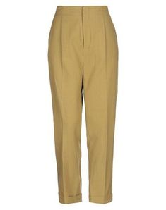Plain weave No appliqués Basic solid color High waisted Regular fit Tapered leg Hook-and-bar Zip Multipockets Cuffed hems Vanessa Bruno, Military Green, World Of Fashion, Casual Pants, Your Style, Pajama Pants, Legs, Zip, Weave