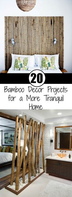 I want to share some bamboo decor ideas. Give bamboo a try, and see how it changes your home. Oh, and most importantly, bamboo decor is easy and simple.
