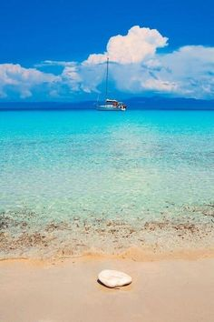 Antipaxoi island, Ionian Sea, Greece.