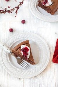 Cranberry Chocolate Gingerbread