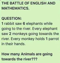 Kindly provide us with the right answer to this question. Points are awarded to the one with the right answer. Our cumulative winner would be notified and rewarded during our next Promo. Funny Questions With Answers, Math Riddles With Answers, Question And Answer Games, Quiz With Answers, Brain Teasers With Answers, Tricky Questions, This Or That Questions, Math Logic Puzzles, Funny Puzzles