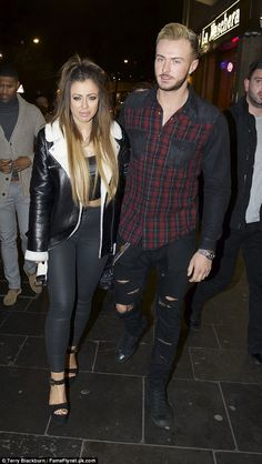 Make way! Holly Hagan made her way to Geordie Shore's series 10 wrap party at TupTup nigh...