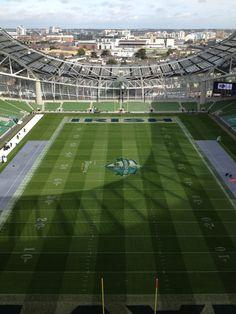 Aviva Stadium Dublin!  Go Irish!