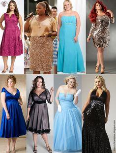 Chica Mimus: Moda: vestidos de festa plus size (para gordinhas)