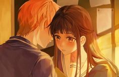 Kyo x tohru 🐈🍙 Kyo Manga, Manga Anime, Naruhina, Kyo And Tohru, Fruits Basket Manga, Fruits Basket Cosplay, Crown Tattoo Design, Whiskers On Kittens, Horimiya