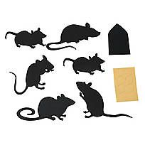 Put the fright in your Halloween decorations with this Halloween Silhouette Décor Kit. Decorate your windows, glass doors, walls and more this Halloween . Halloween Window Display, Halloween Window Silhouettes, Cute Halloween Decorations, Halloween Wall Decor, Holidays Halloween, Halloween Diy, Wall Decorations, Rat Silhouette, Halloween Drawings