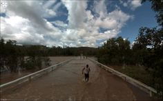 Des photos surprenantes de Google Street View (PHOTOS) Jon Rafman, Photo Projects, View Photos, Beautiful Images, Google, Around The Worlds, Country Roads, Street View, Clouds
