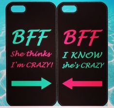 Best Friends BFF in Pairs for iphone 5 case, iphone 4 case, ipod ipod note Samsung Samsung galaxy blackberry on Wanelo Bff Iphone Cases, Bff Cases, Cute Phone Cases, Diy Phone Case, Iphone Phone, Best Friend Cases, Friends Phone Case, Best Friends, Samsung Galaxy S4