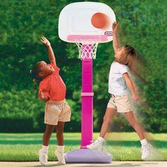 TotSports™ Easy Score™ Basketball Set- Girls' Version