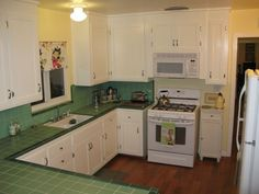 Image result for 1945 kitchen counters