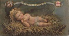 Baby Jesus Holy Card