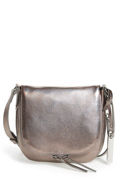 Free shipping and returns on Vince Camuto 'Baily' Crossbody Bag at Nordstrom.com. An exposed zipper traces the smart curves of a svelte crossbody in richly pebbled leather.