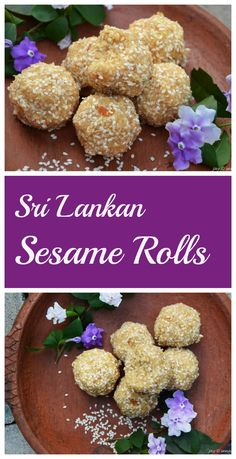 A delicious combination of sesame seeds, coconut and palm jaggery. It is not only healthy, it is irresistible!
