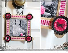 Craft Stick Picture Frames | Bottle Cap Inc