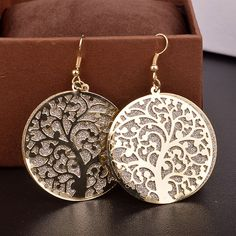 2015 Fashion long Channel earrings Vintage dangler earrings High quality Frosted trees Drop Earrings for women Jewelry-in Drop Earrings from Jewelry on Aliexpress.com | Alibaba Group