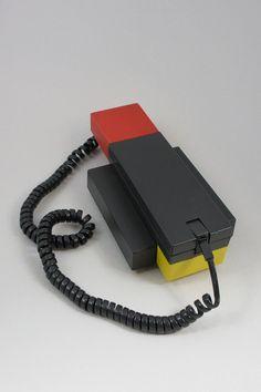 Ettore Sottsass Enorme Telephone 1980s Memphis